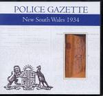 New South Wales Police Gazette 1934