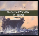 The Second World War in Pictures Volumes 1-6