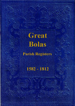 Shropshire Parish Registers: Great Bolas 1582-1812