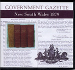 New South Wales Government Gazette 1879