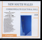 New South Wales Commonwealth Electoral Roll 1939 Cowper