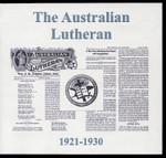 The Australian Lutheran 1921-1930