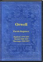 Cambridgeshire Parish Registers: Orwell 1560-1837