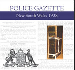 New South Wales Police Gazette 1938