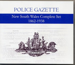 New South Wales Police Gazette Complete Set 1862-1938