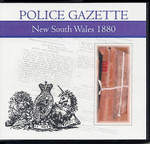 New South Wales Police Gazette 1880