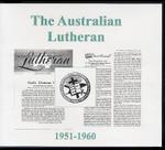 The Australian Lutheran 1951-1960