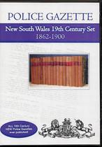 New South Wales Police Gazette 19th Century Set 1862-1900