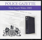 New South Wales Police Gazette 1881
