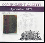 Queensland Government Gazette 1869