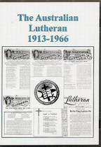 The Australian Lutheran Set 1913-1966