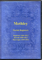 Yorkshire Parish Registers: Methley 1559-1812