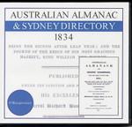 Australian Almanac and Sydney Directory 1834 (O'Shaughnessey)