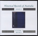Historical Records of Australia series 1 Volume 3