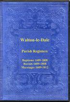 Lancashire Parish Registers: Walton-le-Dale 1609-1812