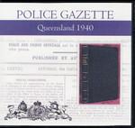 Queensland Police Gazette 1940
