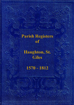 Staffordshire Parish Registers: Haughton, St Giles 1570-1812
