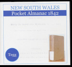 New South Wales Pocket Almanac 1842 (Tegg)