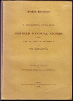 Yorkshire Manorial Records: Sheffield c.1384-1660