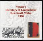 Yewen's Directory of Landholders, New South Wales 1900