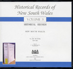 Historical Records of New South Wales Volume 3