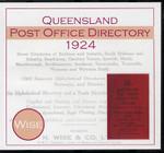 Queensland Post Office Directory 1924 (Wise)