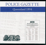 Queensland Police Gazette 1894