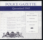 Queensland Police Gazette 1945