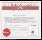 Australian Almanac 1859 (Waugh)