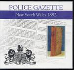 New South Wales Police Gazette 1892