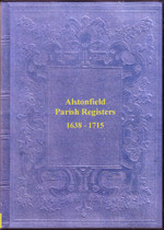 Staffordshire Parish Registers: Alstonfield 1570-1715
