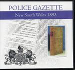 New South Wales Police Gazette 1893