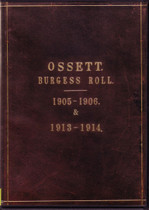 Yorkshire Electoral Roll: Ossett (Burgess Rolls) 1905-06 and 1913-14