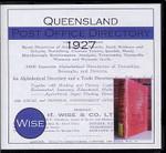 Queensland Post Office Directory 1927 (Wise)