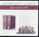 Queensland Government Gazette 1878
