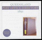 Queensland Post Office Directory 1891 (Hollander)