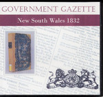 New South Wales Government Gazette 1832