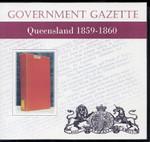 Queensland Government Gazette 1859-60