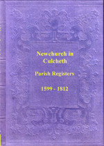 Lancashire Parish Registers: Newchurch in the Township of Culcheth 1599-1812