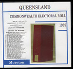 Queensland Commonwealth Electoral Roll 1939 Moreton