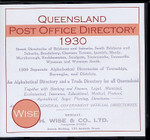Queensland Post Office Directory 1930 (Wise)