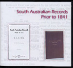 South Australian Records Prior to 1841