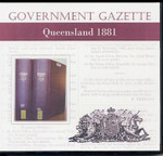 Queensland Government Gazette 1881