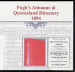 Pugh's Almanac and Queensland Directory 1894