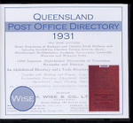 Queensland Post Office Directory 1931 (Wise)