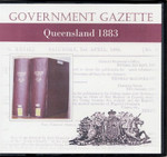 Queensland Government Gazette 1883