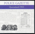 Queensland Police Gazette 1903