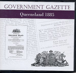 Queensland Government Gazette 1885