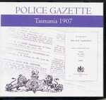 Tasmania Police Gazette 1907