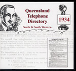 Queensland Telephone Directory 1934: South and South Western Districts